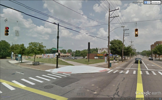 Intersection of Reading Road (US 42) & Rockdale Ave.